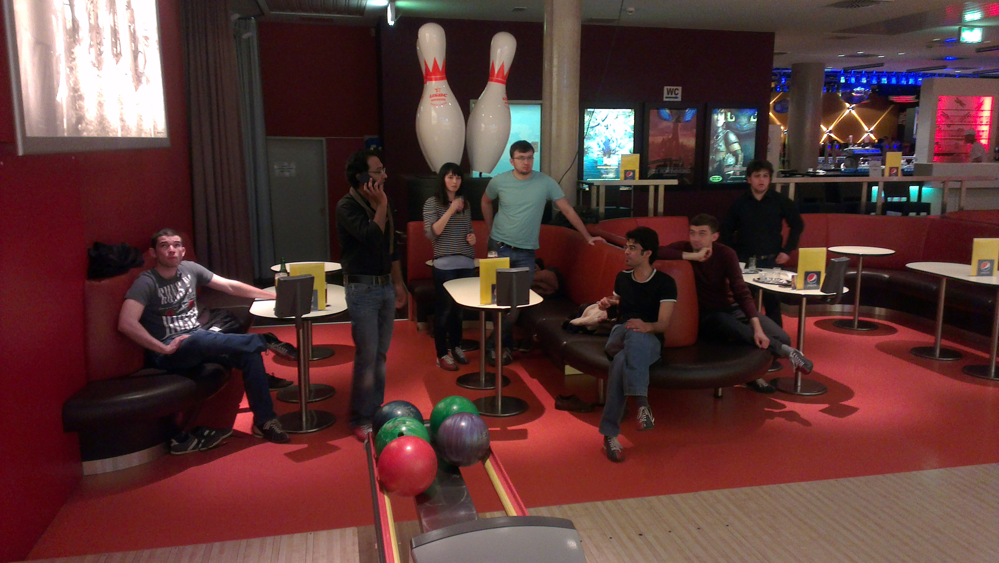 Disco Bowling with the IEEE SB Klagenfurt